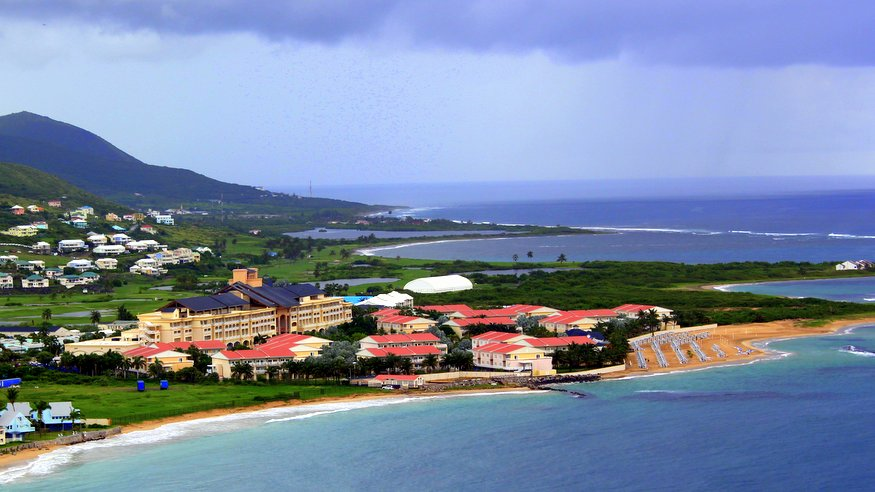 St Kitts. Marriott Resort