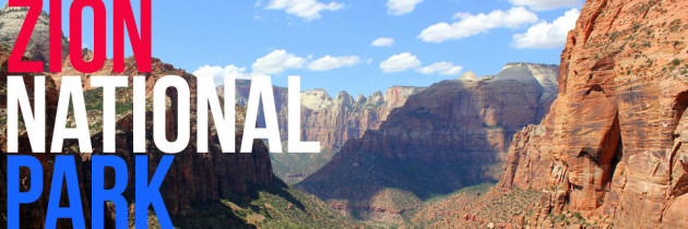 VIDEO: A Drive Through Zion National Park
