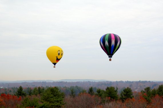 Hot Air Ballooning in New Hampshire