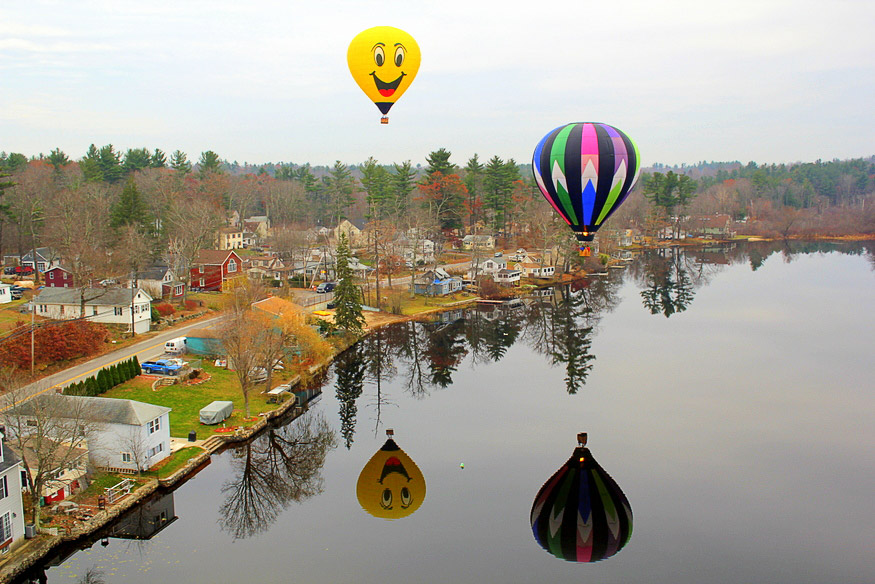 Hot Air Balloon Ride in New Hampshire