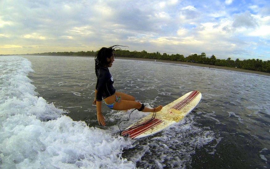 Estee Surf Crash