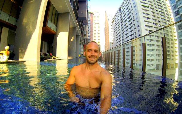 Hansar Bangkok - Rooftop Pool