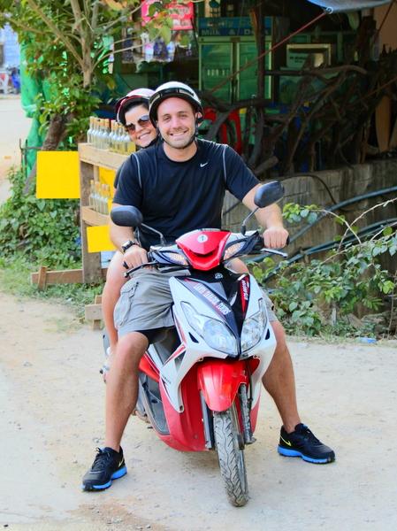 Motorbike - Koh Lanta, Thailand