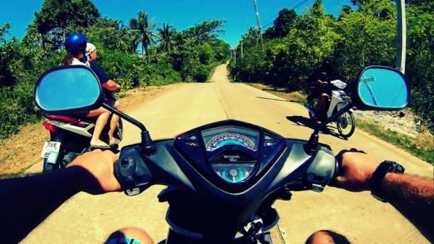 Motorbike Rental Koh Lanta, Thailand
