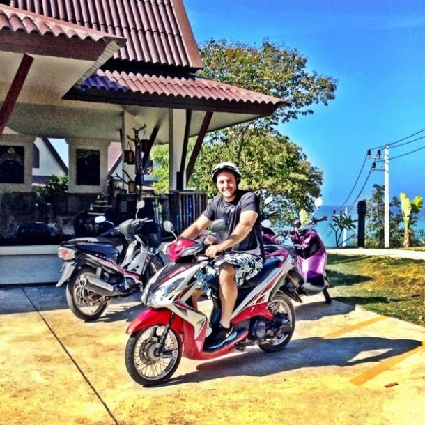 Motorbike Rental in Koh Lanta, Thailand