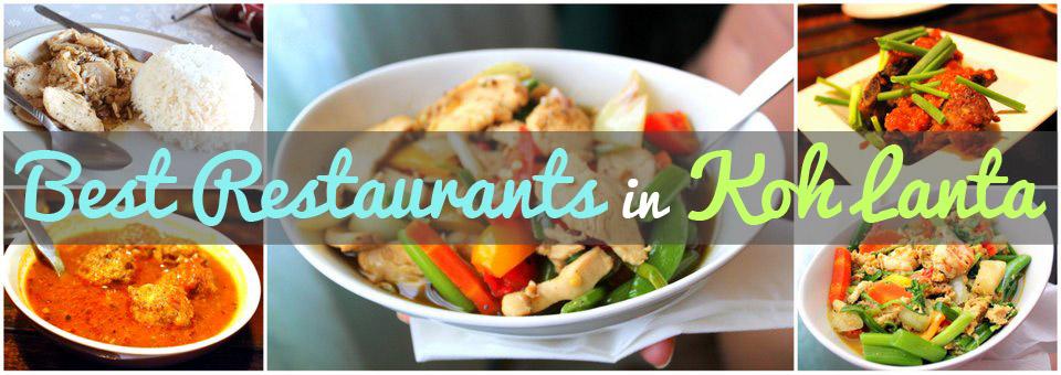 The Best Restaurants in Koh Lanta