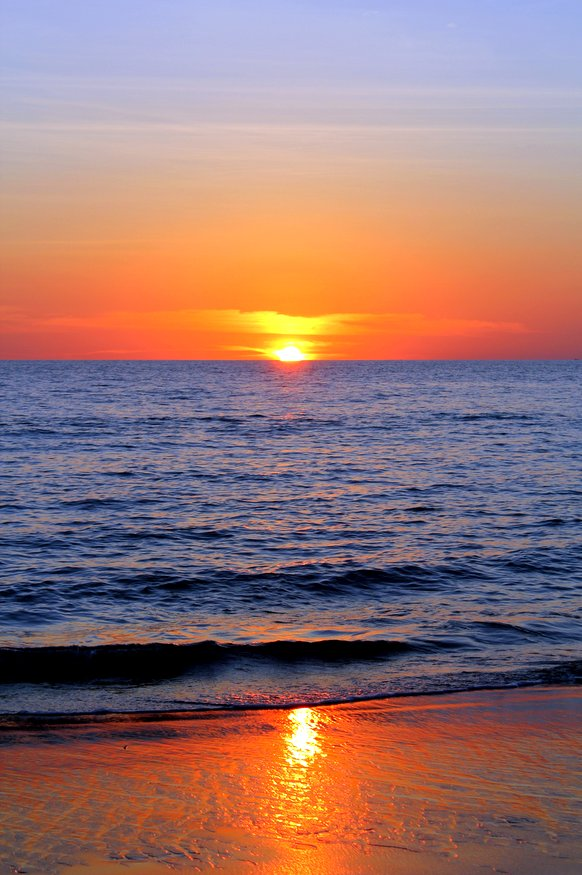 Khlong Nin Beach Sunset - Koh Lanta, Thailand
