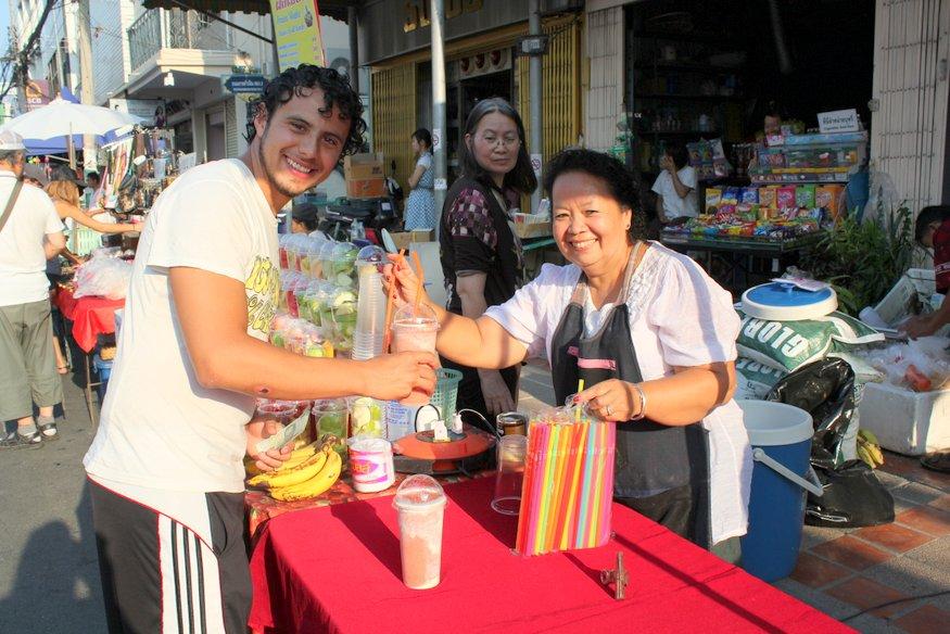 Arturo - Sunday Night Market - Chiang Mai, Thailand