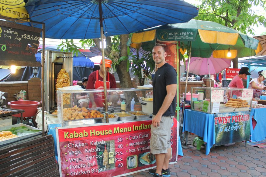 Sunday Night Market - Chiang Mai Walking Street
