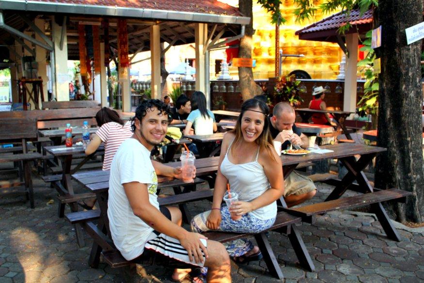Arturo & Fernanda - Sunday Night Market - Chiang Mai, Thailand
