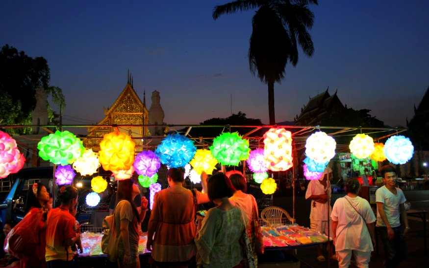 Sunday Night Market - Chiang Mai Walking Street