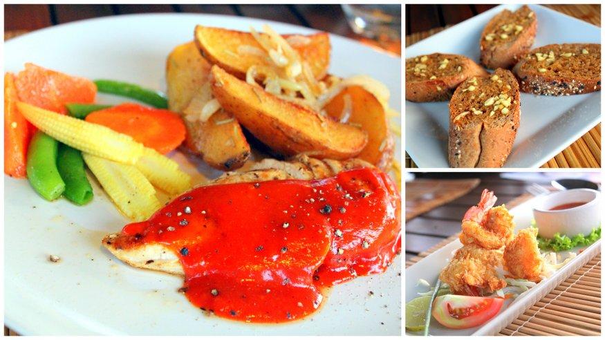 Food at Noon Restaurant - Koh Lanta, Thailand