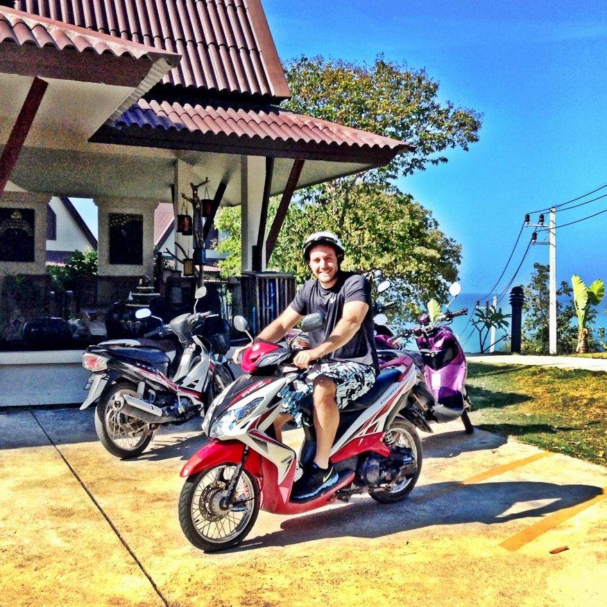 Motorbike Rental - Koh Lanta, Thailand