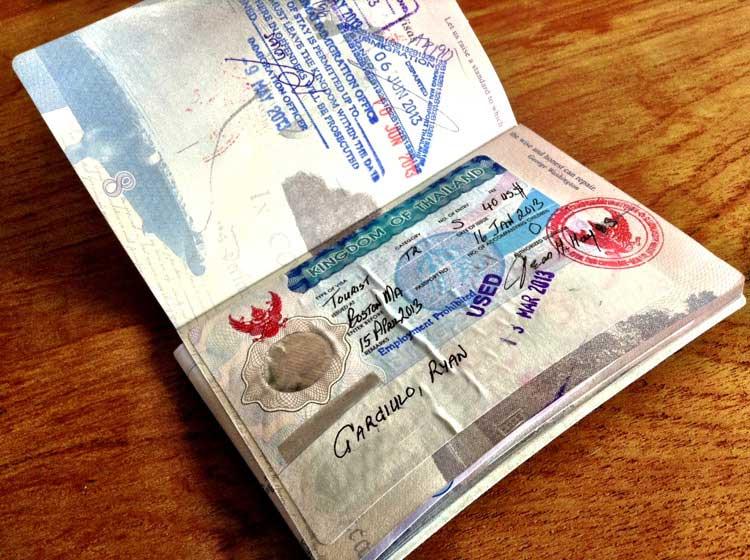 Thailand 60 Day Tourist Visa