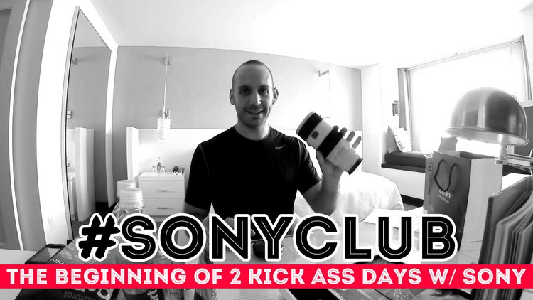 Sony Club Gift Bag Surprises