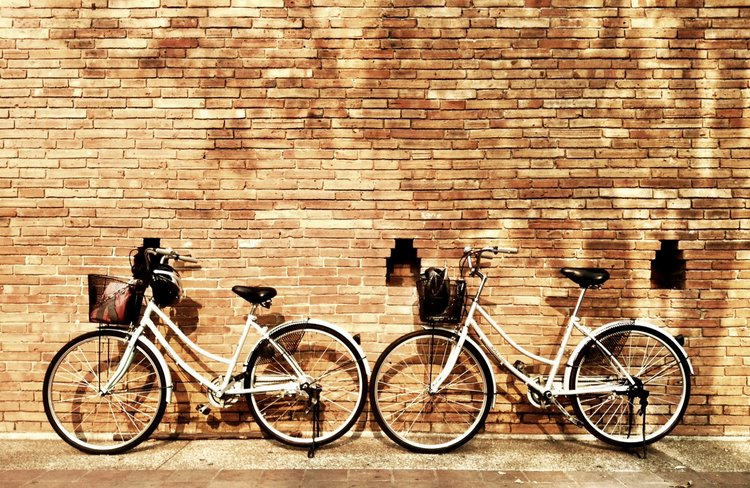 Bicycles in Chiang Mai, Thailand