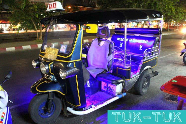 Tuk-Tuk Chiang Mai, Thailand