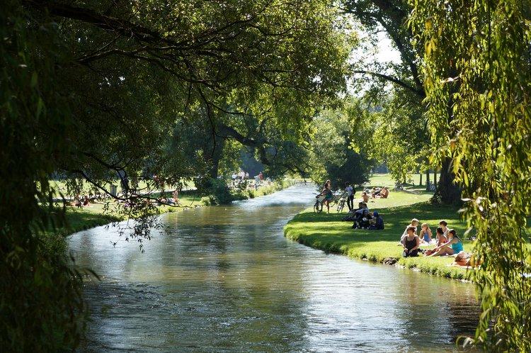 Englischer Garten Munich, Germany