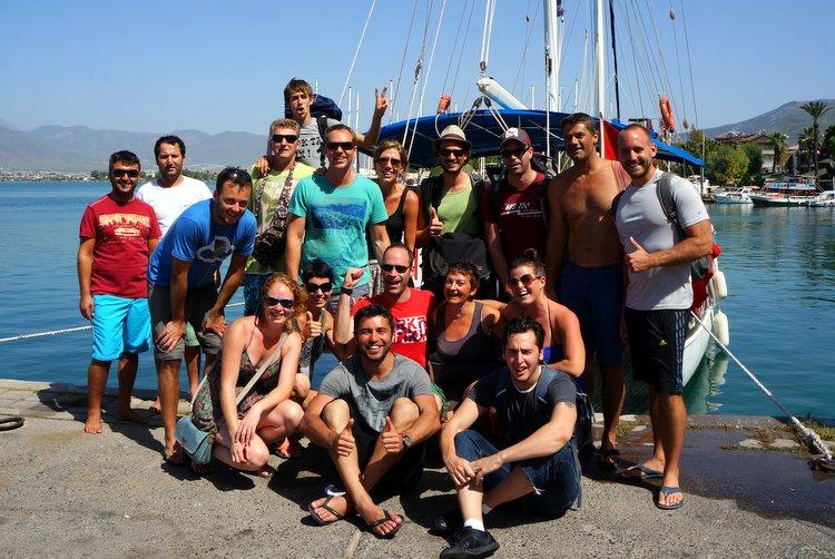 Alaturka Blue Cruise Crew