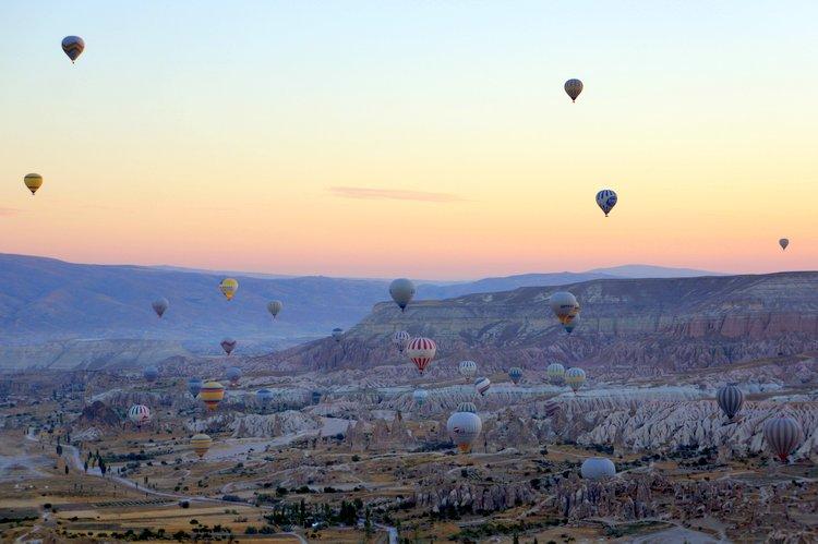 Hot Air Balloon Ride in Cappadocia, Turkey