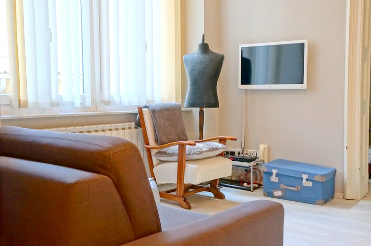Living Room Zagreb review: fresh* sheets apartment zagreb