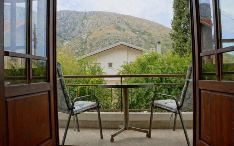 Hostel Nina - Mostar, Bosnia - Balcony