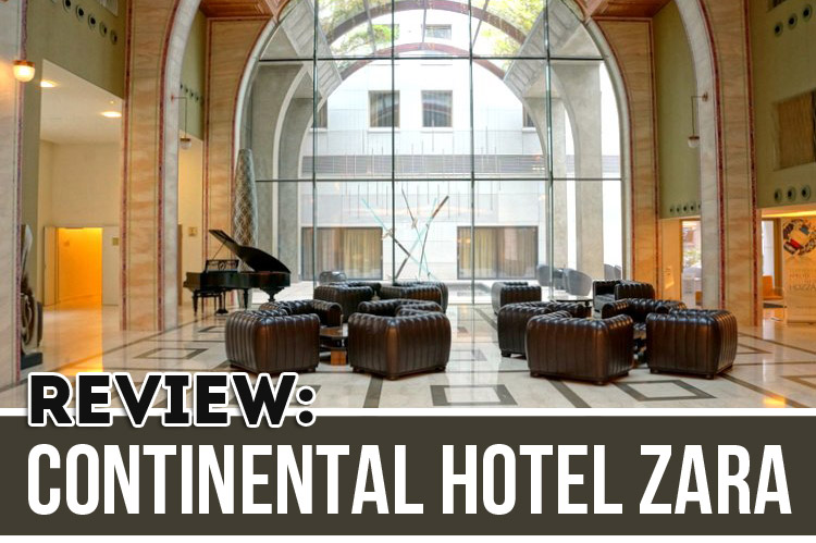 Continental Hotel Zara Budapest Review
