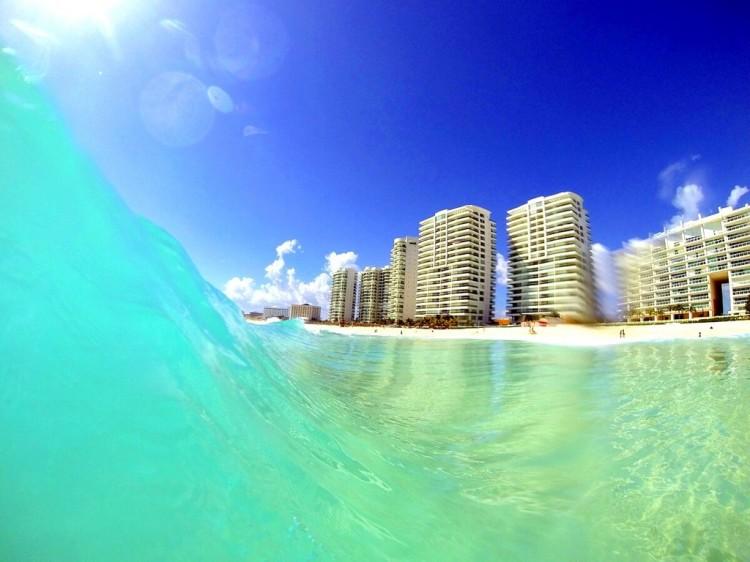Playa Chac Mool - Cancun, Mexico