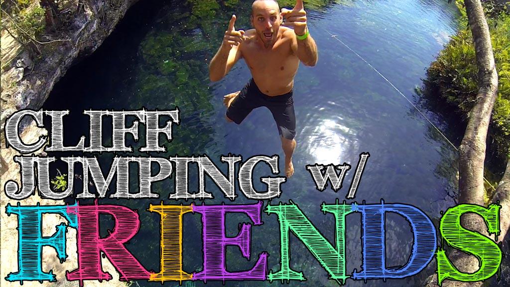 Cenote Eden Cliff Jumping