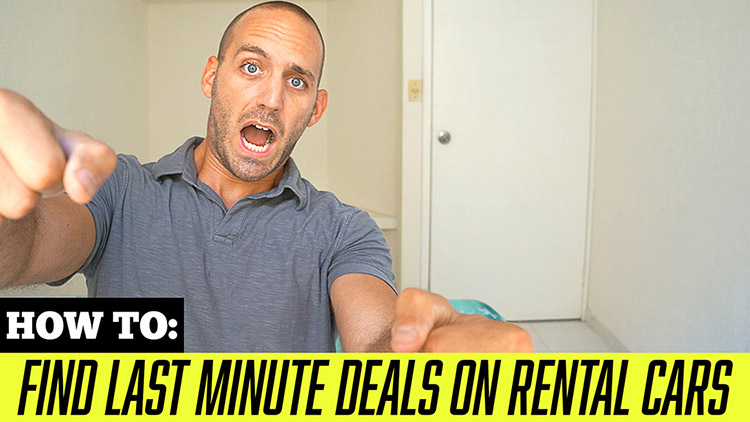 How to Score Last Minute Deals on Rental Cars
