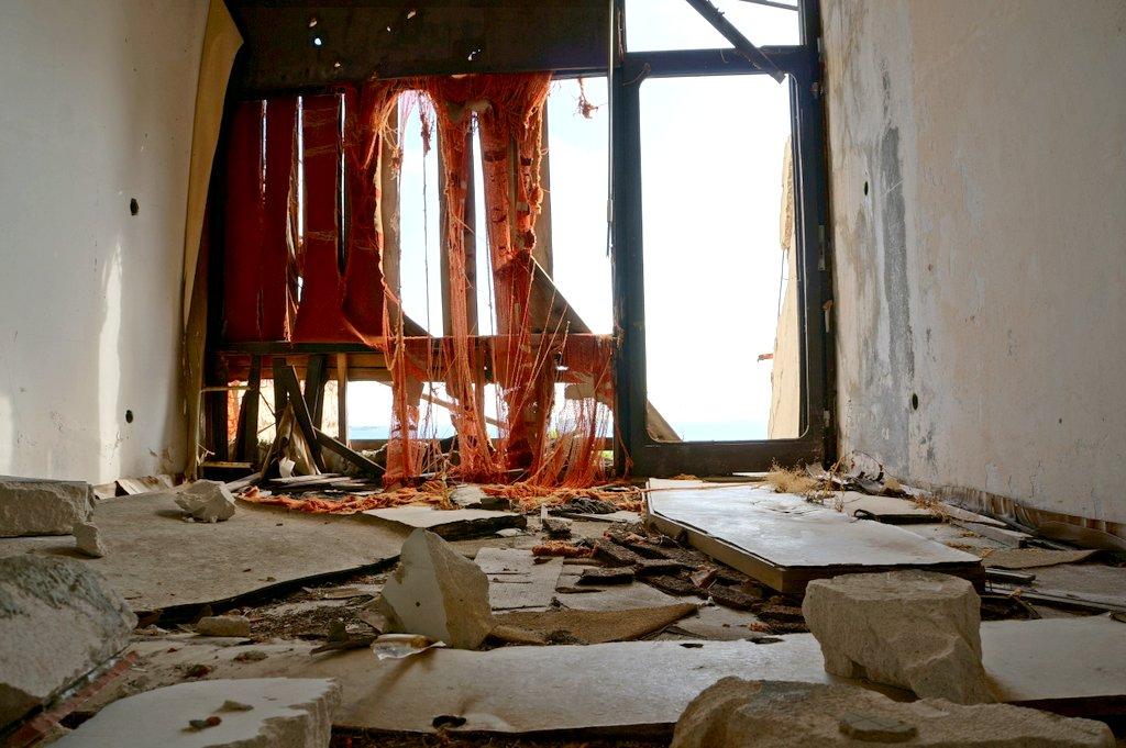 Kupari Abandoned hotel room