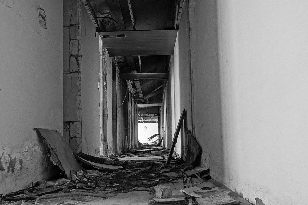 Kupari Hotel Hallway