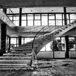 Kupari Abandoned Hotel Staircase