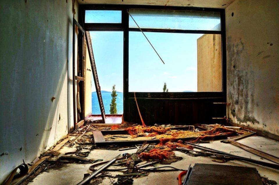 Kupari - Looted Hotel Rooms