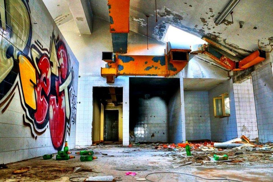 Kupari graffiti