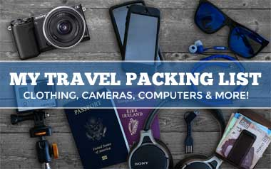 My Travel Packing List