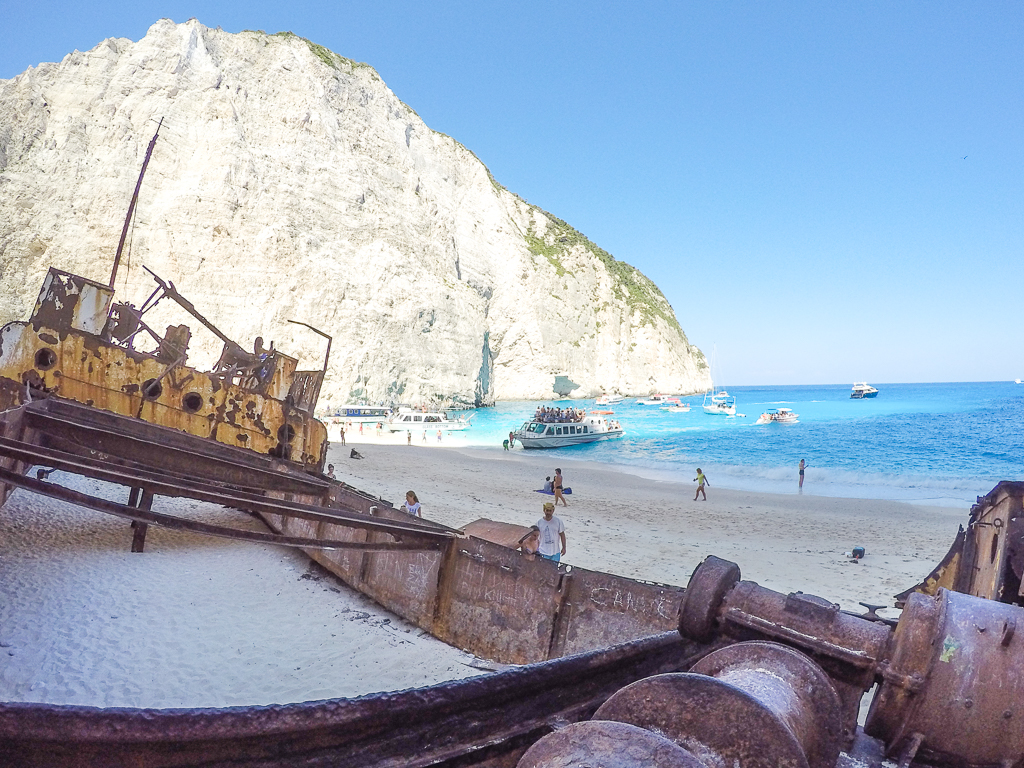 Shipwreck Beach - Zakynthos, Greece