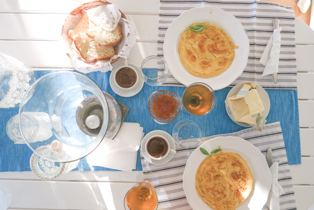 Breakfast at Paradisso Villas - Zakynthos, Greece