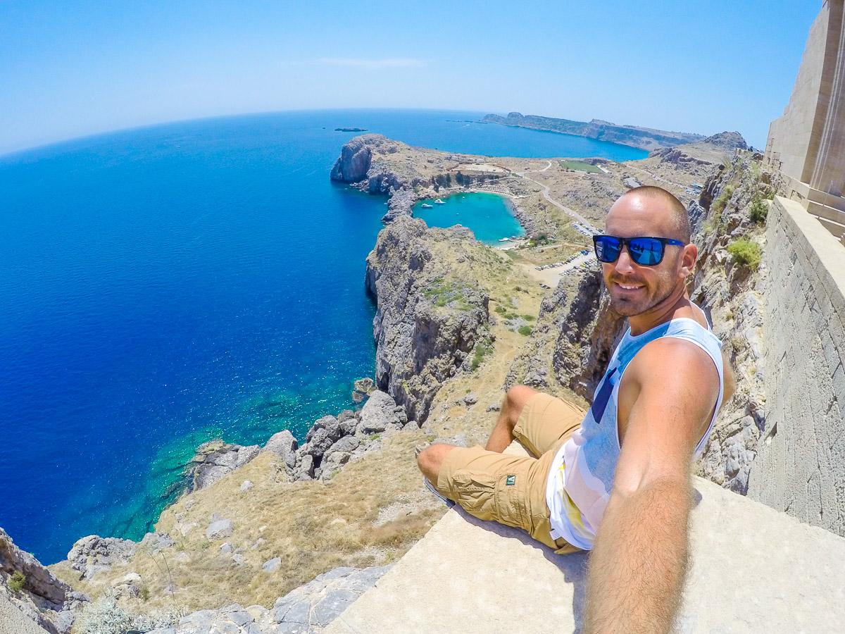 St Paul's Bay - Rhodes, Greece