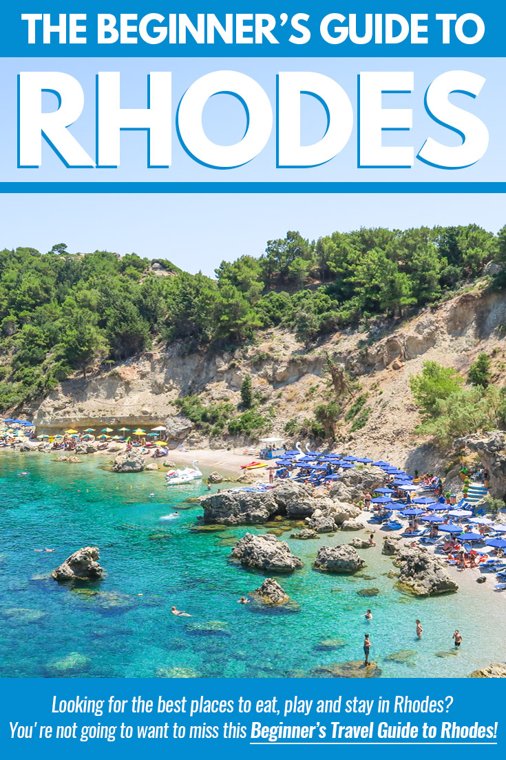 Rhodes Island Greece Map.Rhodes 101 The Beginner S Guide To The Greek Island Of Rhodes