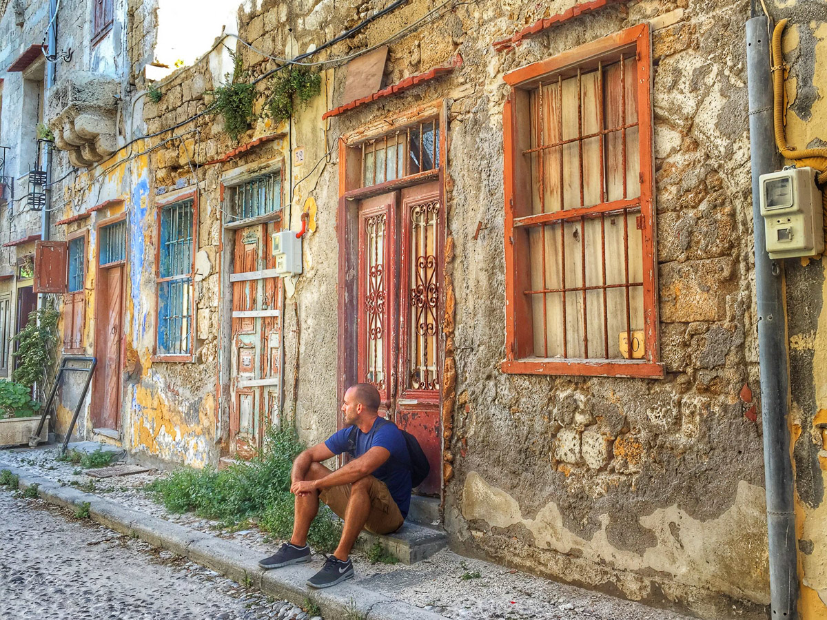 Exploring Old Town Rhodes