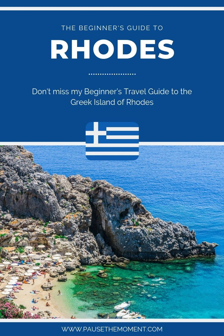 Rhodes Travel Guide Pinterest