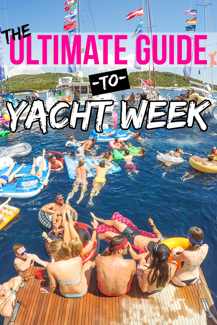 Yacht Week Croatia: Ultimate Guide to Yacht Week