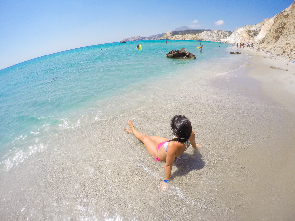 Firiplaka Beach - Milos, Greece