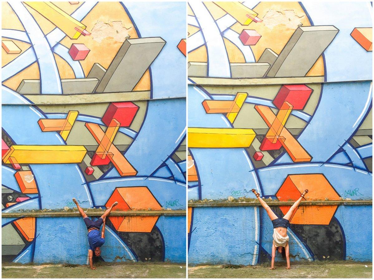 Handstands in Prague