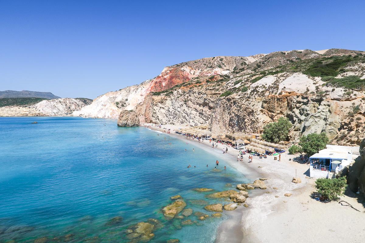 Firiplaka Beach - Milos, Greecea