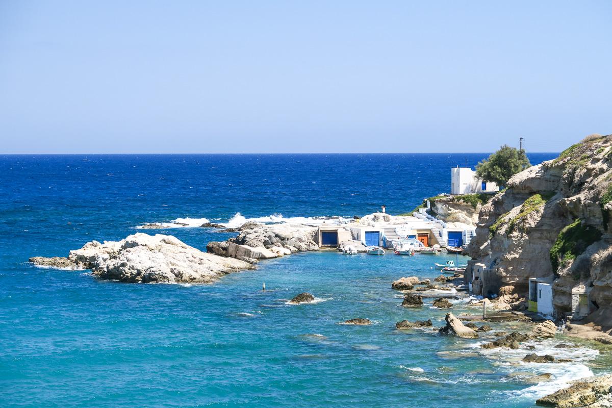 Mandrakia Village - Milos, Greece