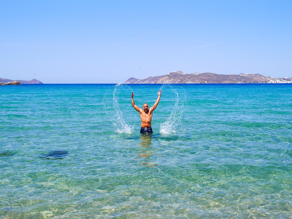 Achivadolimni Beach - Milos, Greece