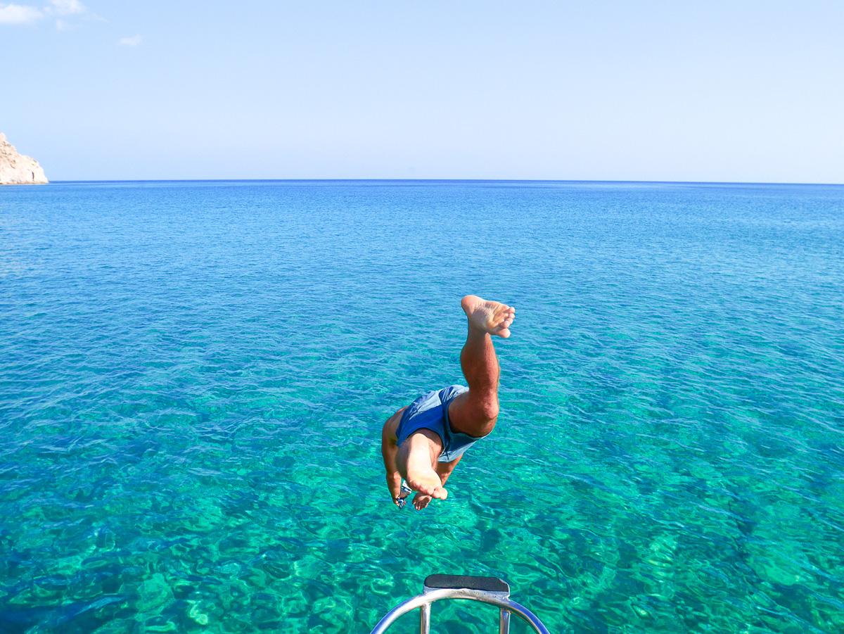 Oneiro Boat Tour - Milos, Greece