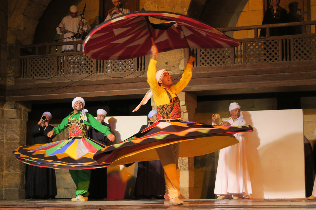Sufi Dancing - Cairo, Egypt